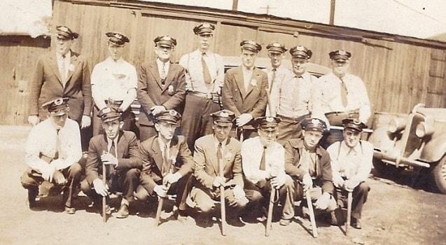 Railroad police 1940s