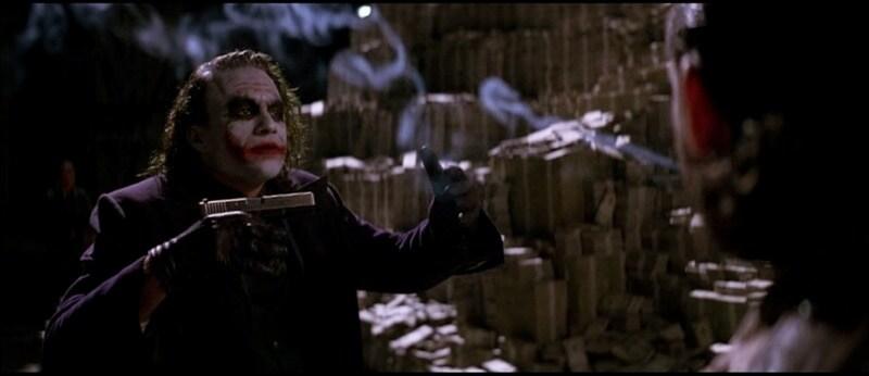 The Joker's Glock