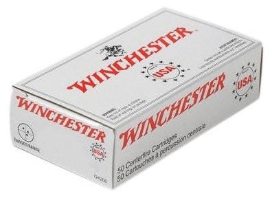 Winchester 230-grain FMJ ammunition