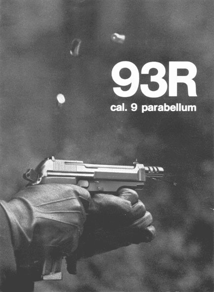 Beretta 93R advertisement