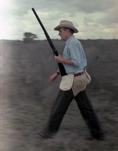 George HW Bush Gun