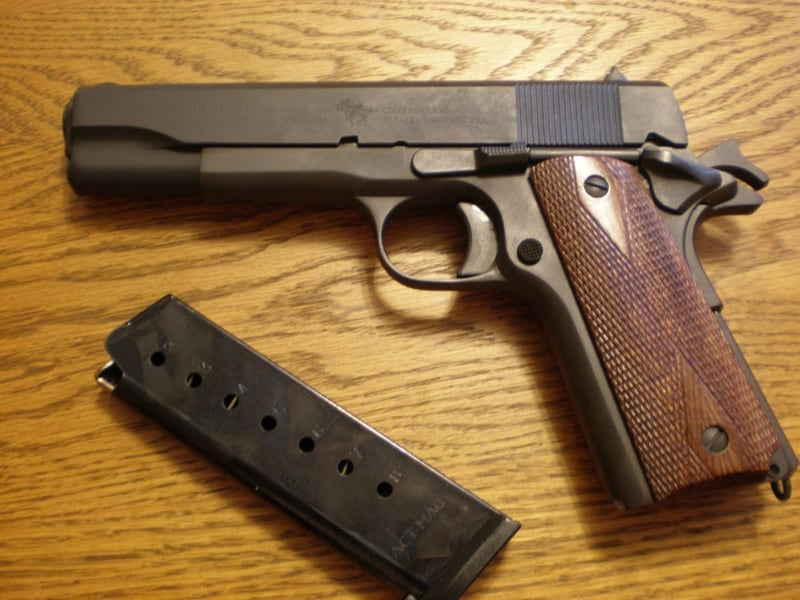 Gun Review: The Cimarron 1911: Damn near perfect WWI-era