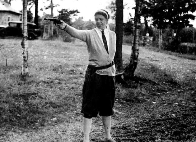 First Lady Eleanor Roosevelt Gun