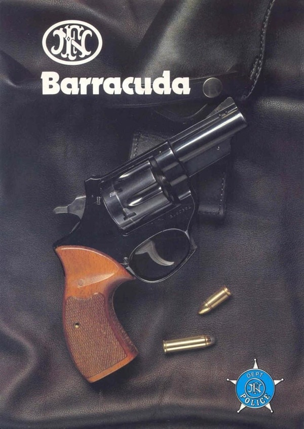 FN Barracuda marketed for police.