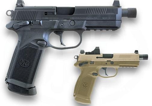 The FNX-45. True Tactical.