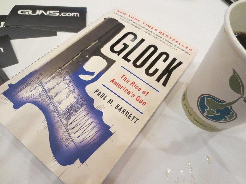"""The paperback of """"Glock: Rise of America's Gun"""" by Paul Barrett was released in January."""