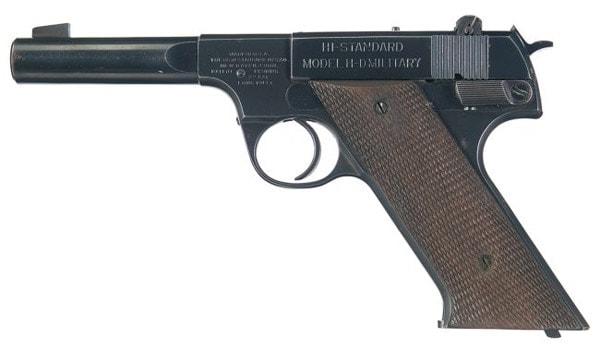High Standard .22 pistol.