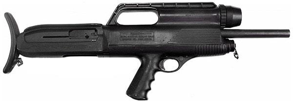 High Standard Model 10, bullpup shotgun.