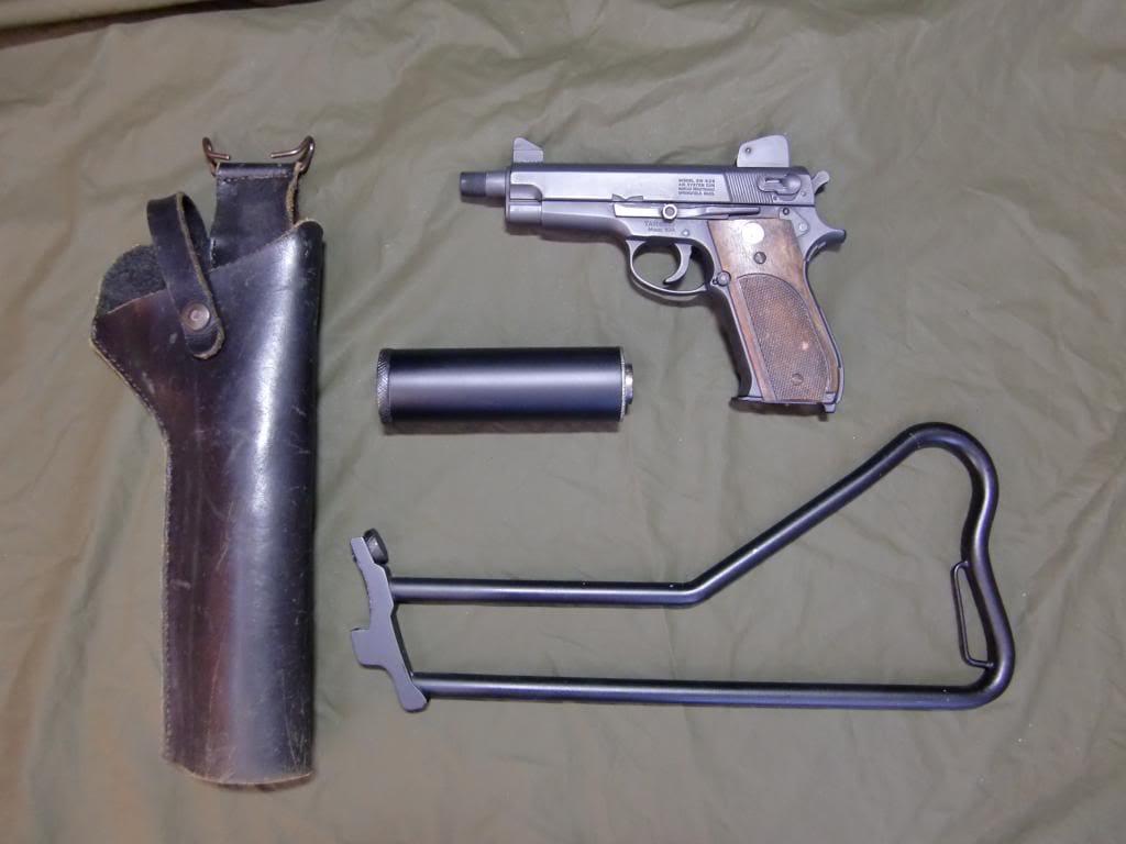 Original Mk 22 suppressed pistols