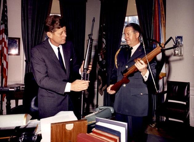 John F Kennedy Gun