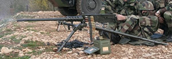 M2 firing from tripod