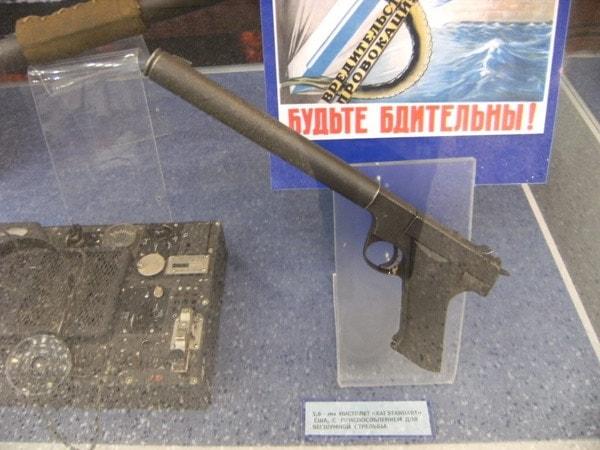 Gary Powers suppressed .22 caliber High Standard H-D