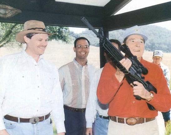 Ronald Regan Gun