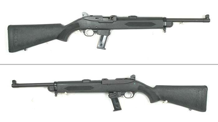 Ruger Police Carbine side views