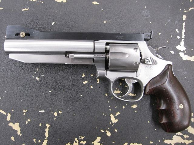 Smith & Wesson Model 64 PPC Style Build
