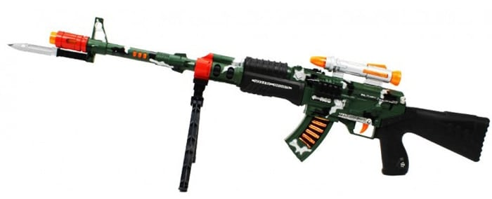 tricked out toy ak