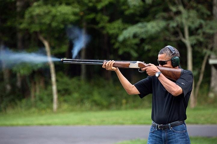 Barack Obama Gun