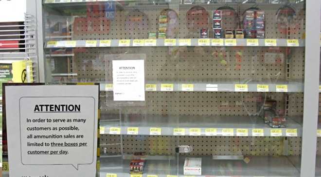 Walmart rationing ammunition