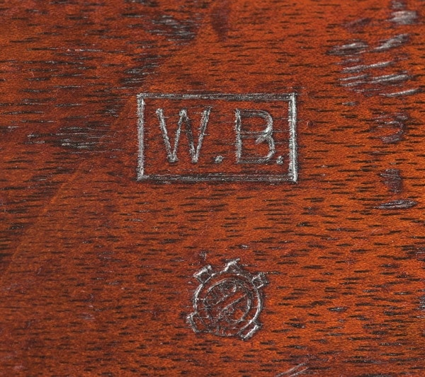 WB Inspection stamp on a 1897 Winchester shotgun