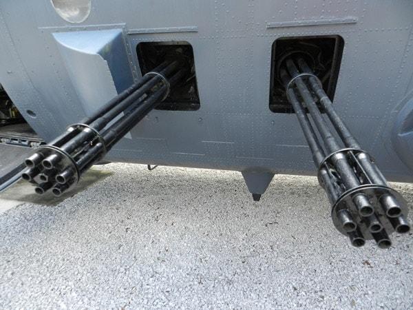 20mm Vulcan mini-guns