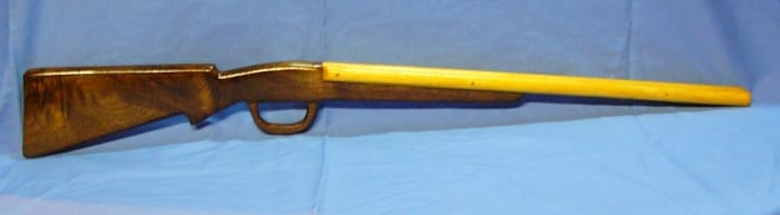 chickory 702 wooden toy shotgun