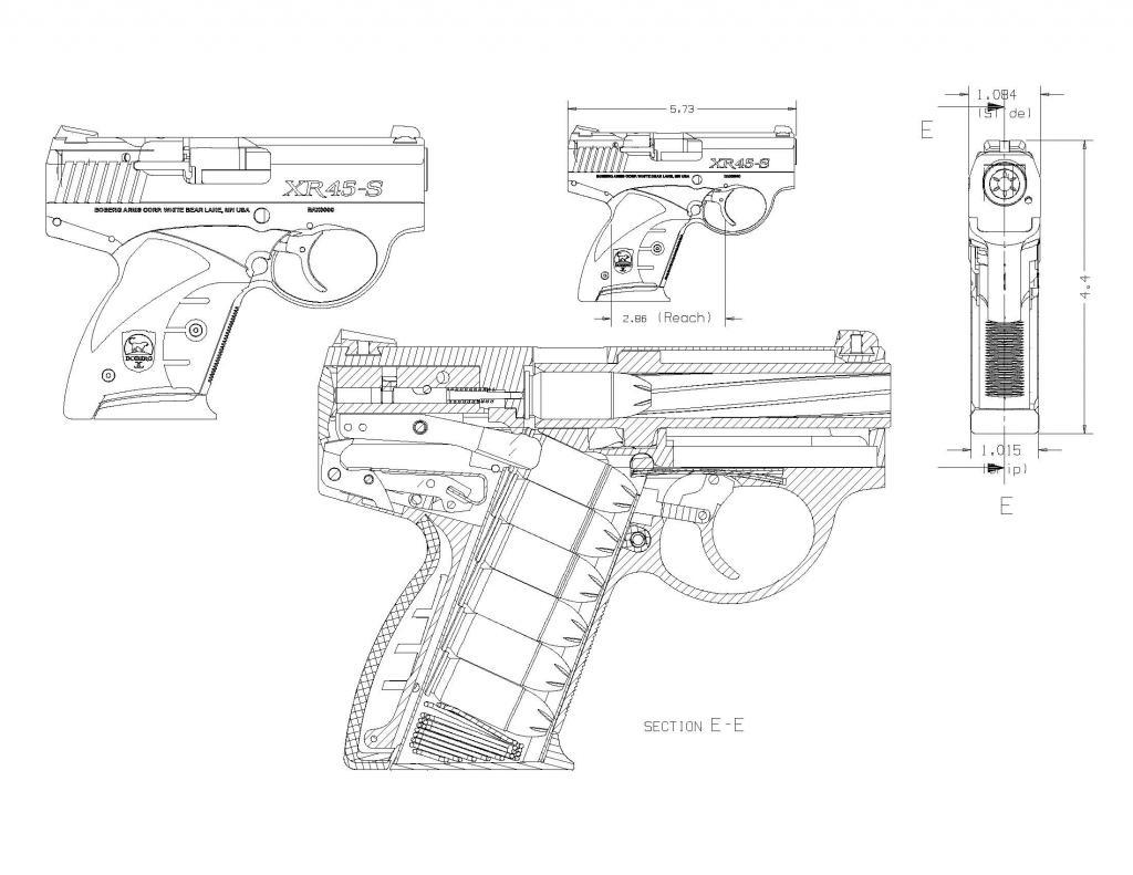 BOBERG XR45-S blueprint