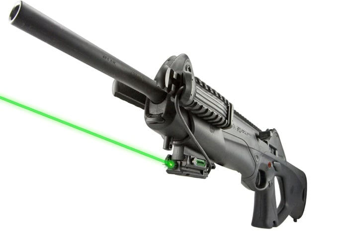 The Green LaserMax on a CX4 Storm