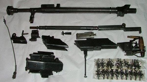 DShK parts kits