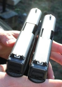 Glock 19 and 30S side by side