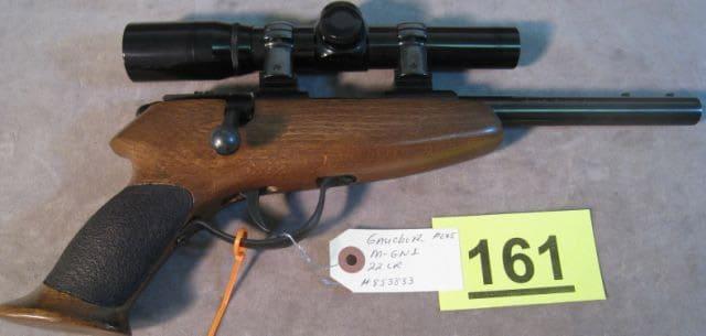 Gaucher Target Pistol (Photo credit: Auction Flex)