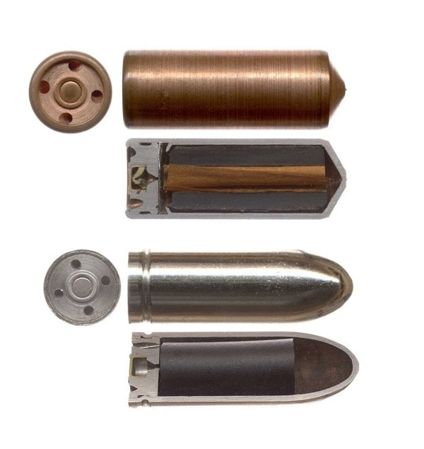 Gyrojet cartridges