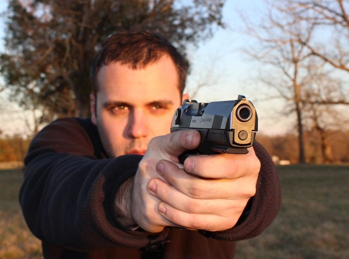 The PX4, a solid pistol.