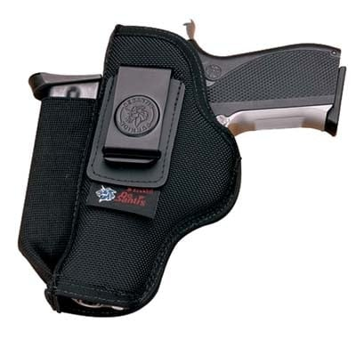 kingston holster with a handgun in it