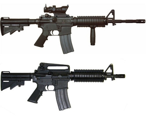 M4A1 and carbine