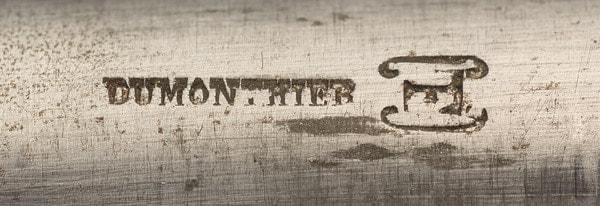 Dumonthier maker's mark.