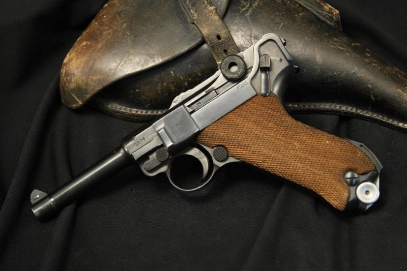 The Mauser P08. (Photo credit: Gun Auction)