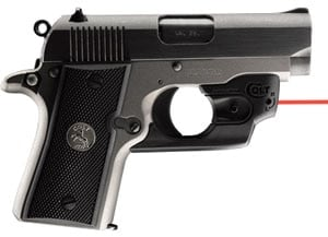Colt Mustang with CenterFire LaserMax