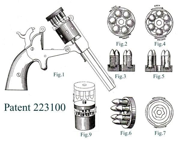 W.H. Bell's revolver speedloade