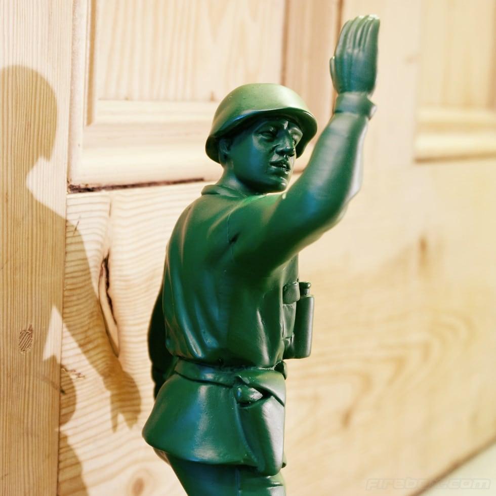 Toy Soldier Doorstop (2)