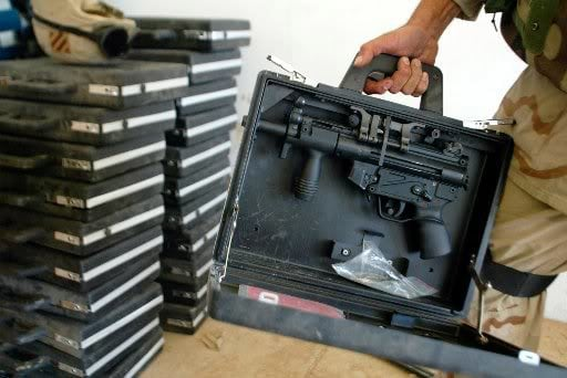 HK operational briefcases recovered in Iraq