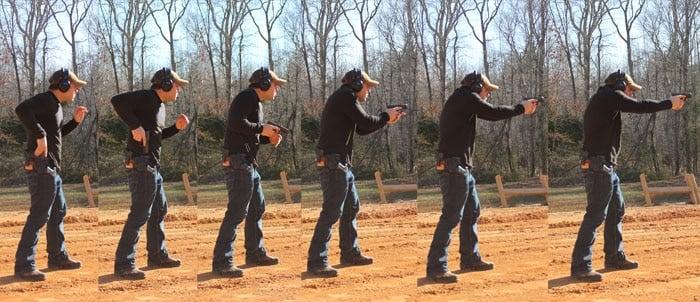 man shooting g30s multiple frames