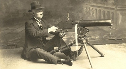 The Browning M1917 Machine Gun: Browning's water-cooled