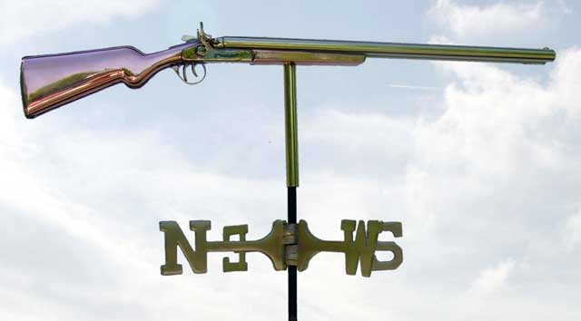 shotgun-weather-vane