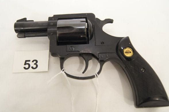 ugly revolver up for auction
