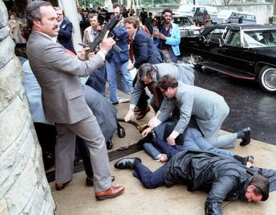 Ronald Reagan assassination attempt.