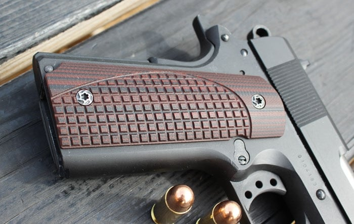 VZ G-10 Grips: 'Someone had to do some serious math to reach