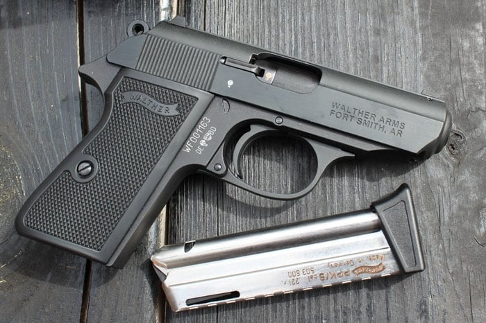 walther ppk 22lr and mag
