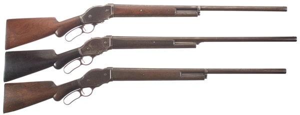 Winchester 1887 lever action shotguns