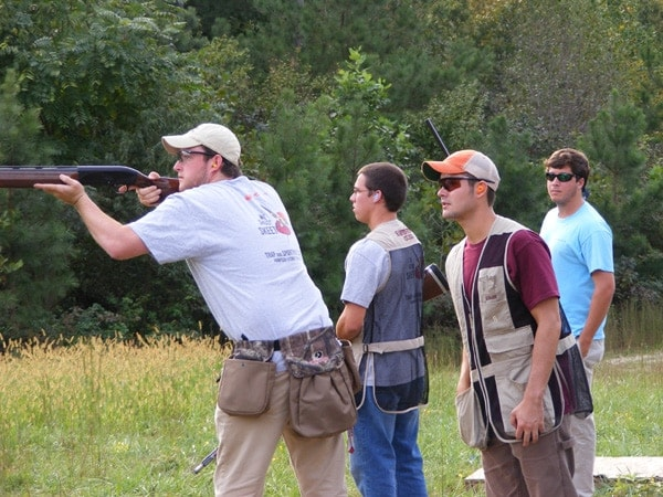 HSC Clay Target Shooting Team Practice