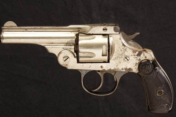 Iver Johnson Safety Automatic in .38.